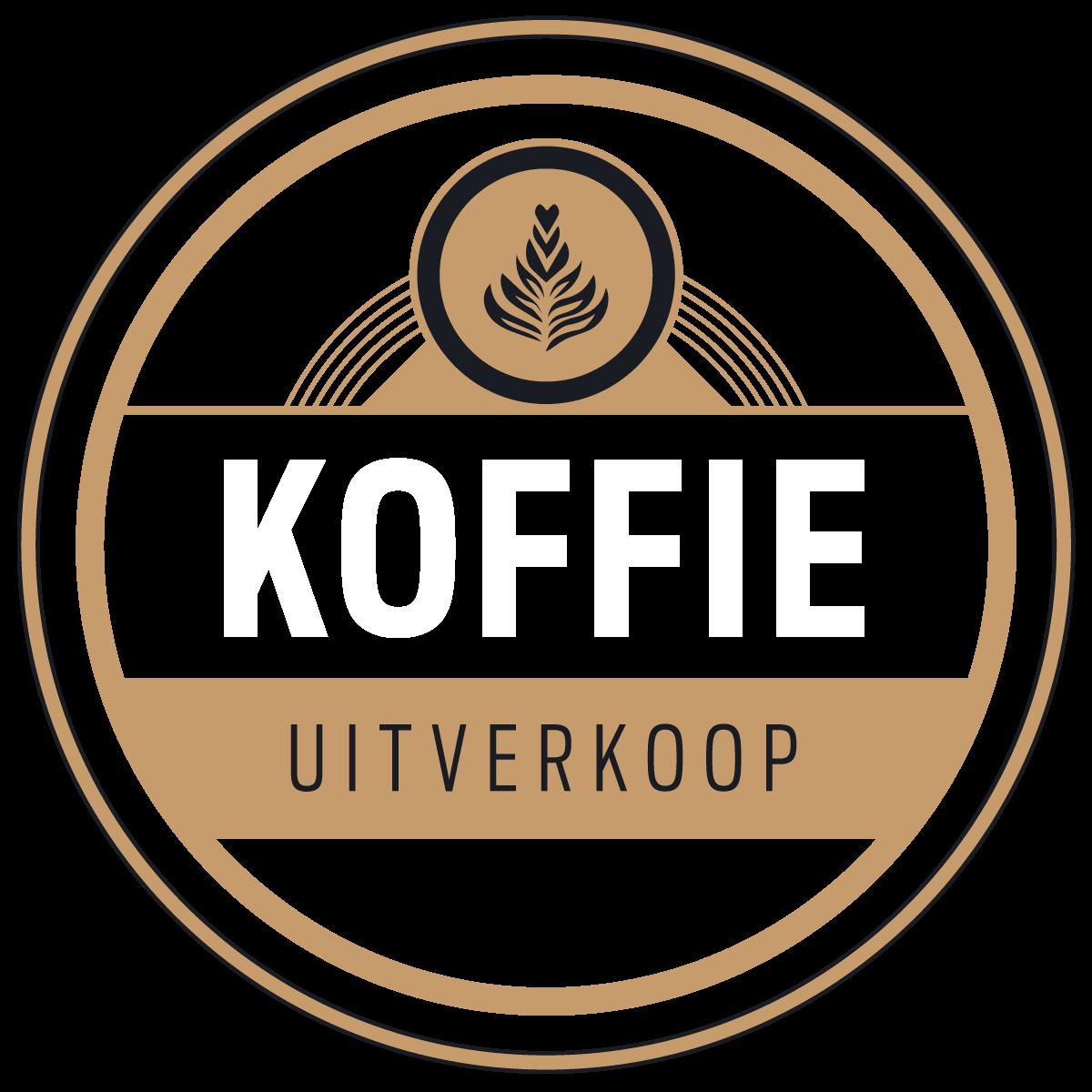 Koffie Uitverkoop badge