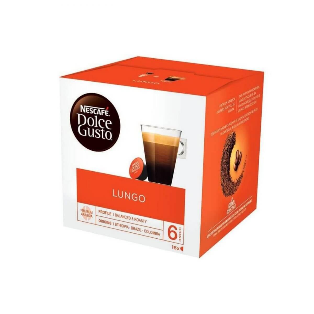 Nescafé - Dolce Gusto - Lungo - capsules